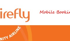 Community airline re-launched mobile booking facility