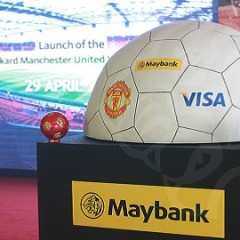 Maybank launches Maybankard Manchester United Visa Infinite for premium MU supporters