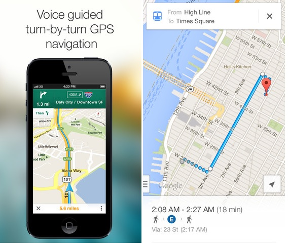 google map 2 ios Google Map 2.0 released with road accident reports.