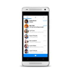 Facebook Improving Its Messenger on Mobile