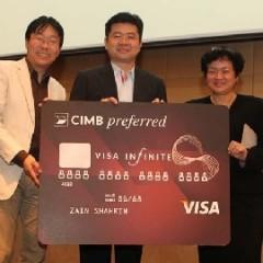 CIMB Introduces CIMB Preferred Visa INFINITE Credit Card to Preferred Customers
