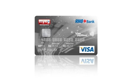 New MYEG-RHB Visa Credit Card Launched