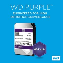 Western Digital Increases Capacity of Surveillance-class Hard Drives to 10TB