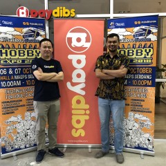 Paydibs Turns Country's Largest Hobby Expo into Cashless