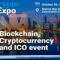 新加坡将在十月举办Crypto Expo Singapore 2019
