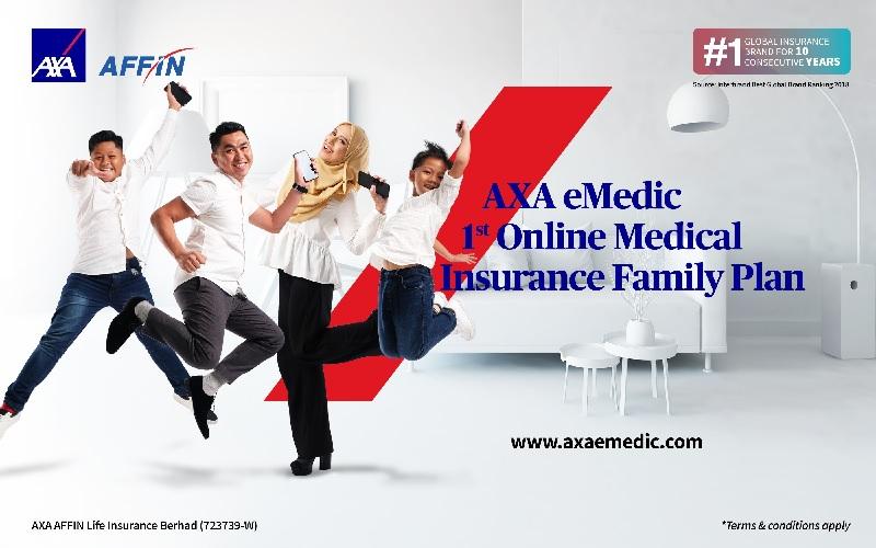 AXA eMedic Family Plan