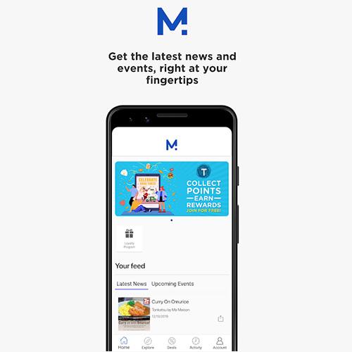 m squared mobile app