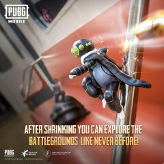 PUBG Mobile Features New traverse-Insectoid  Mode