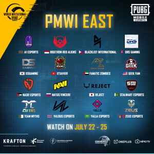 PMWI East Teams