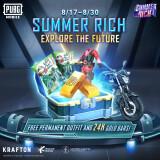 PUBG Mobile Officially Runs Summer Rich Event: Explore The Future